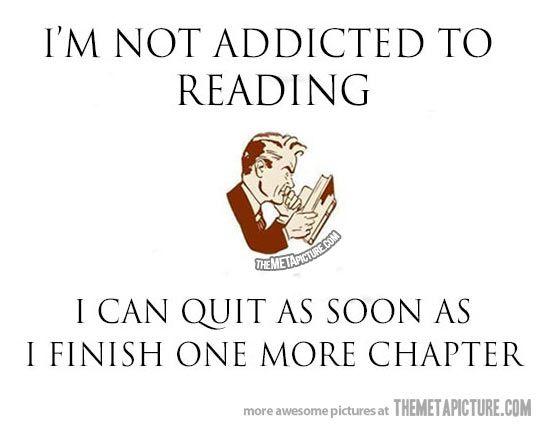 #reading books