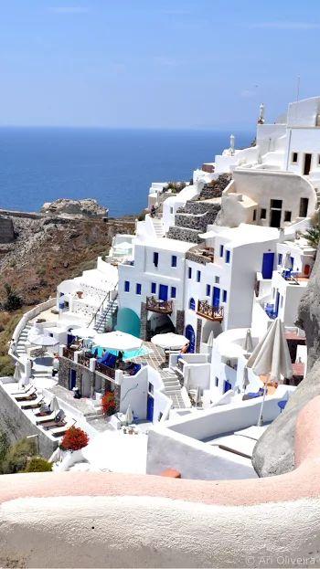 Photo: Santorini Greece (|) Grécia #santorini #greece #grecia
