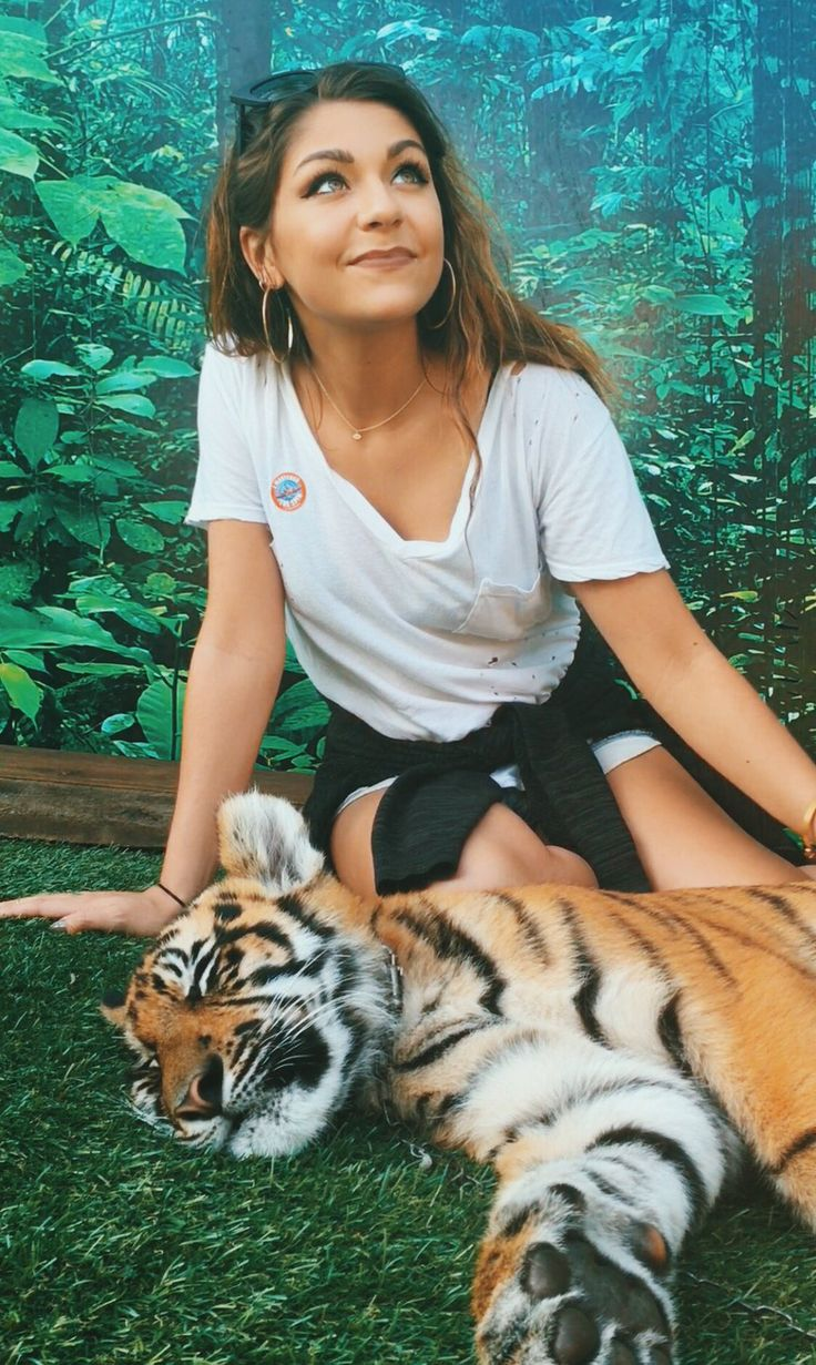 """Andrea Russett on Twitter: """"Less than 5,000 beautiful tigers left on our planet. Protect them at all costs. Please :( """""""