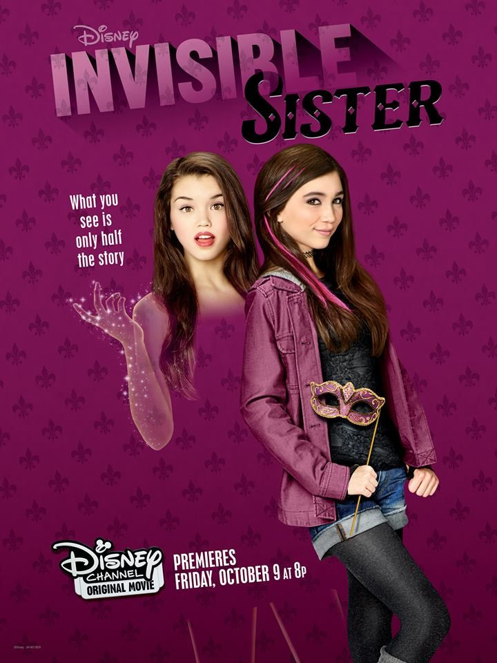Disney Channel Sets Date For Halloween DCOM Invisible Sister!