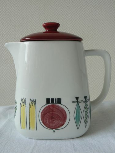 Rorstrand Sweden 50's coffee pot, Picknick, Marianne Westman