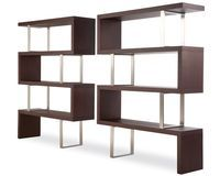 "Modloft Pearl 66"" Cube Unit Bookcase"