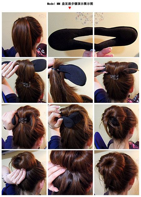 easy hair styles for school 17 best ideas about bun maker on buns and buns 2360
