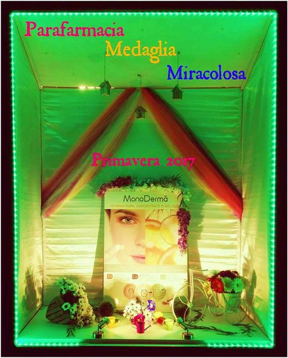 Ecco le foto della Parafarmacia Medaglia Miracolosa, un reportage della nostra storia dall'apertura fino ad oggi!