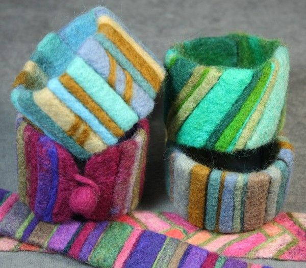 Striped Bracelet with Jeanne Harlan-Marriott #craftartedu