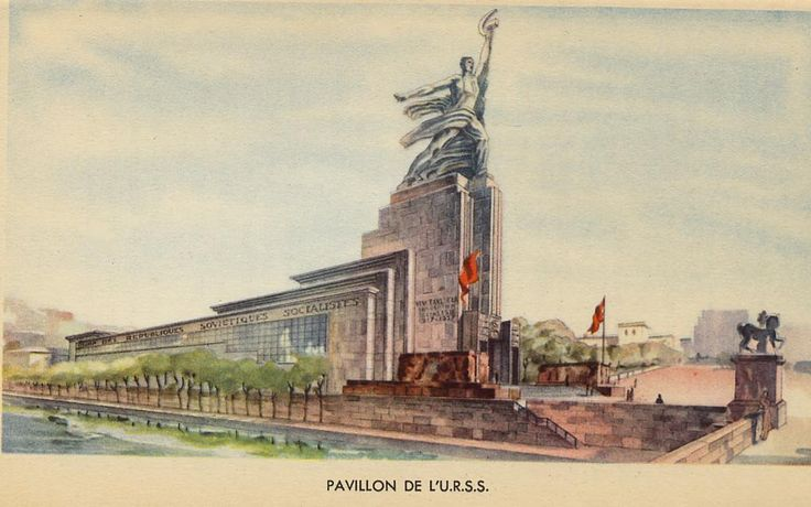 L exposition internationale 1937 l ouvrier et la for Architecture urss