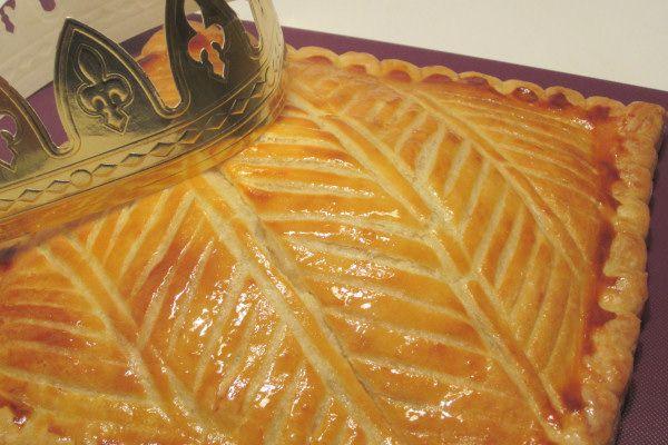 galette des rois carrée creme d'amande