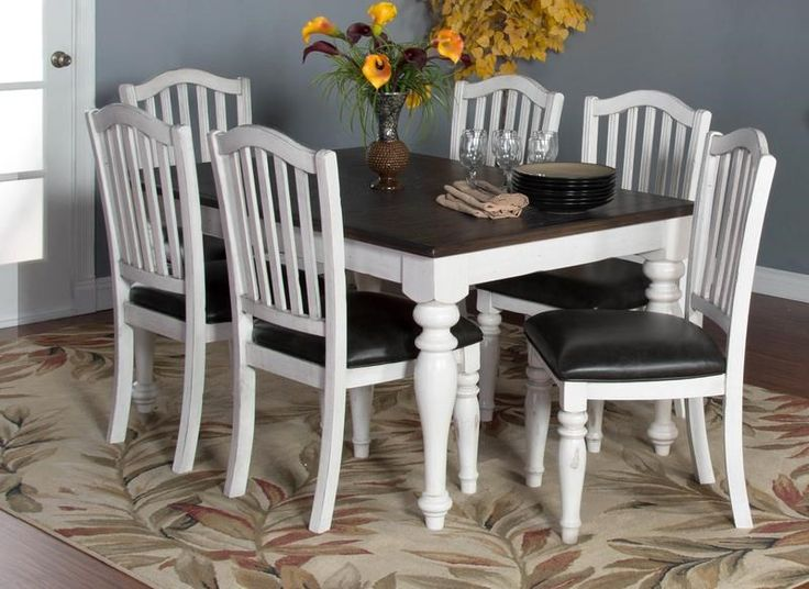 Fairbanks Dining Set Includes Extension Table And 4 Upholstered Side Chairs  By Morris Home Furnishings At Morris Home
