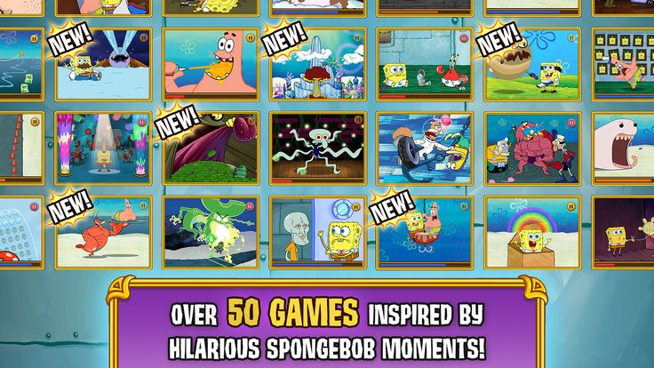 SpongeBob's Game Frenzy- screenshot  ynnynimi,l,l,l r5r5t6y hannah