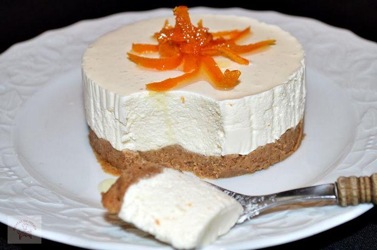 Cheesecake cu portocale (fara coacere) - CAIETUL CU RETETE