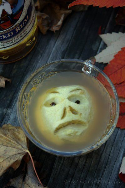 Recipe for Shrunken Heads in Spiced Cider