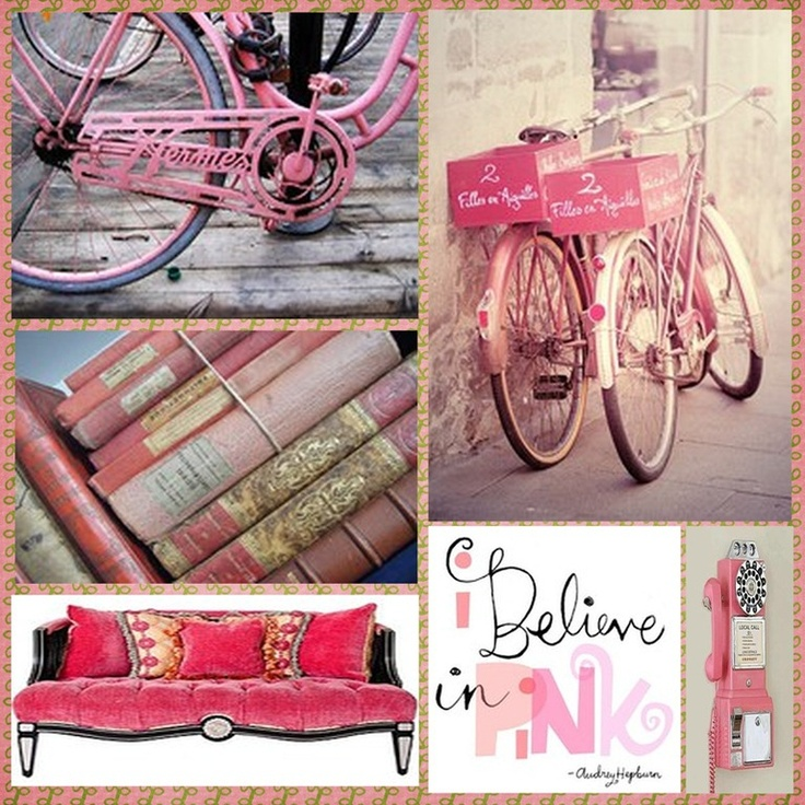 All things pink!
