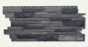 OOOH!!  I found the siding the BF suggested - LOVE IT!!!  Doing a 18ft high feature wall with this stuff: Nailon Faux Stone Wall Siding Plus   Stone Design Made Easy