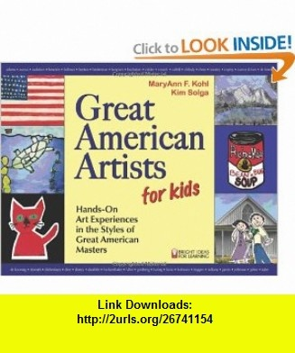 70 best art lessons storybook theme images on pinterest great american artists for kids hands on art experiences in the styles of great american fandeluxe Document