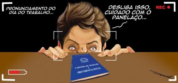 Dilma não fará pronunciamento no dia do trabalho...