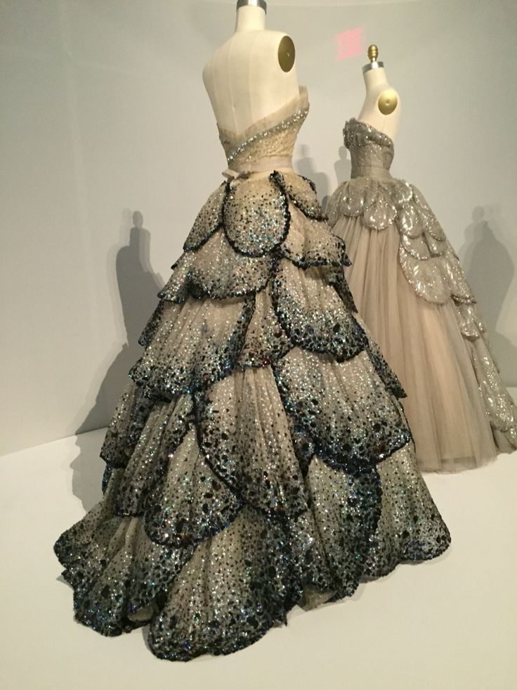 Junon Dresses by Christian Dior, 1949-50
