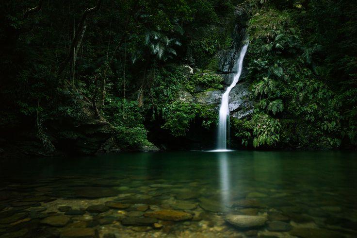 Fukugawa Falls Okinawa [ALBM] [OC]