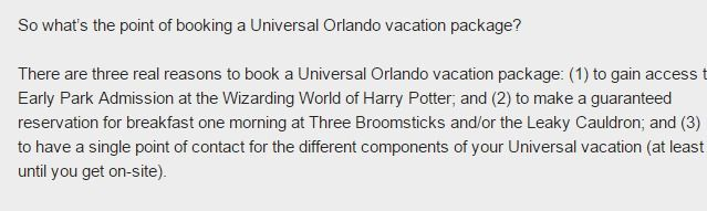 Universal Orlando vacation packages - insider tips, tricks, & secrets - The Script: TICKETS, PACKAGES, & PLANNING - Articles - Articles - Orlando Informer Community