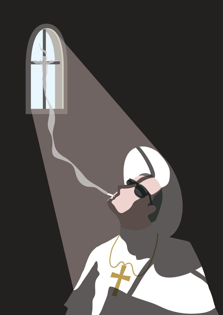 """A tribute to """"the young pope""""   Victor Cavazzoni"""