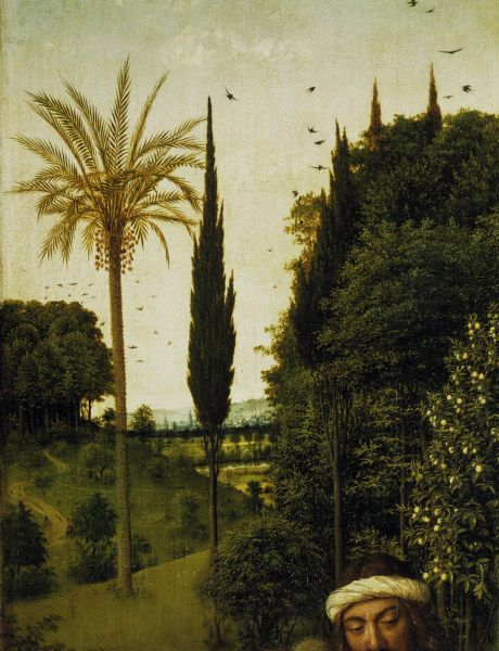Jan van Eyck-Genter Altar (Detail)