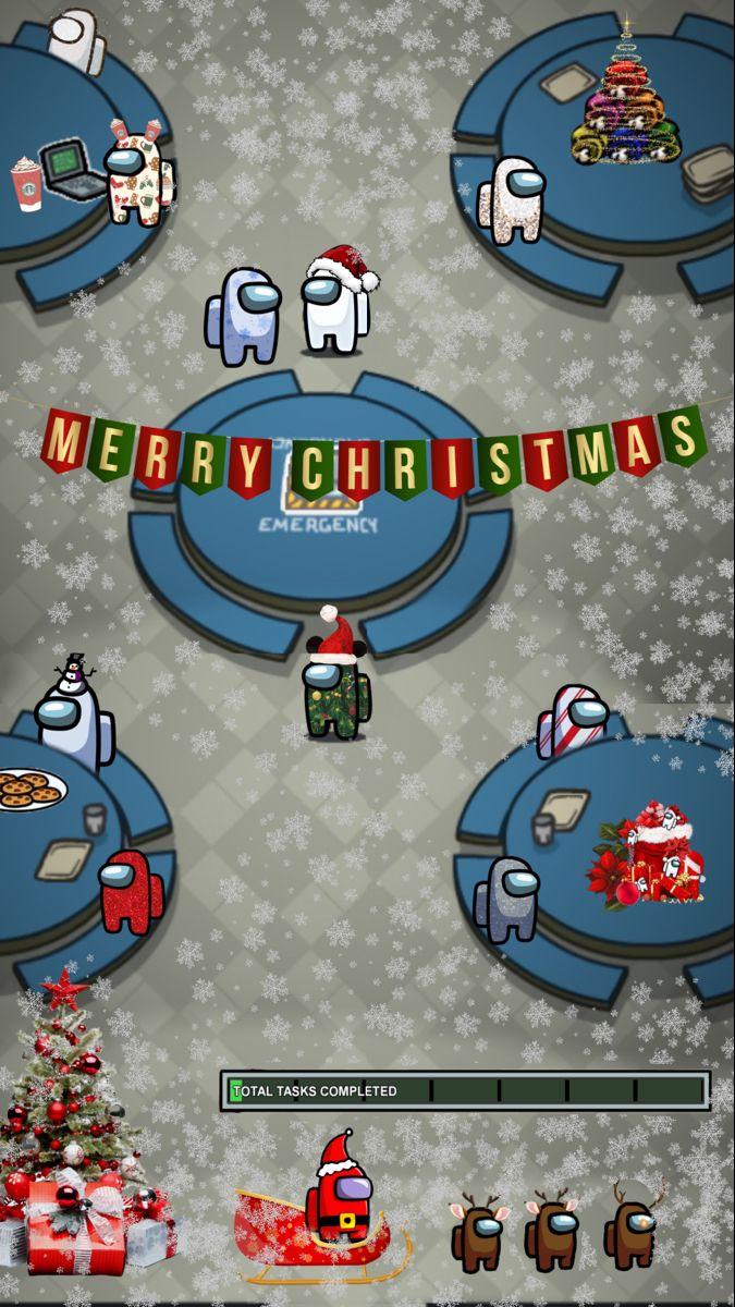 Kellyofyork Christmas Amongus Wallpaper Amonguswallpaper Among Us Christmas Funny Christmas Wallpaper Wallpaper Iphone Christmas Christmas Phone Wallpaper