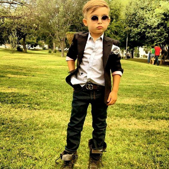 Алонсо Матео – најдобро облеченото петгодишно дете