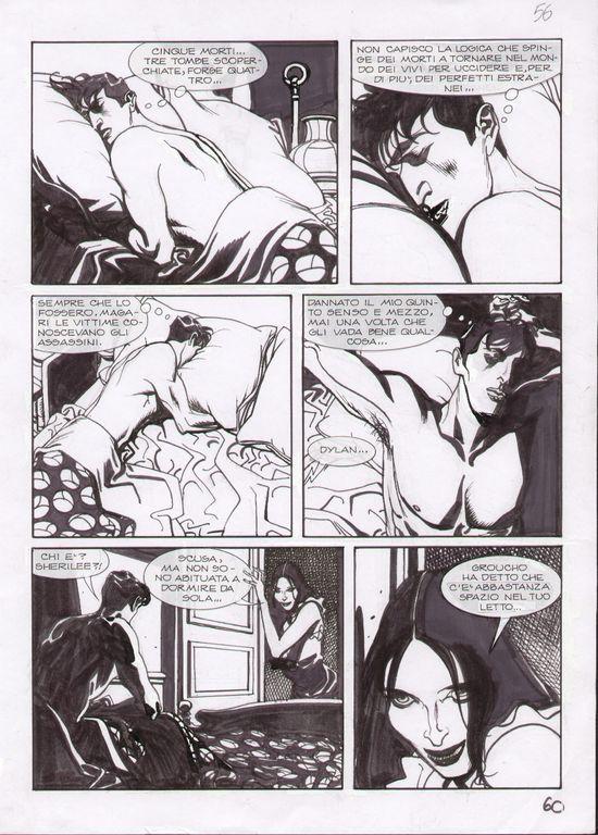 Dylan Dog # 245 pag. 60 - Mari Comic Art