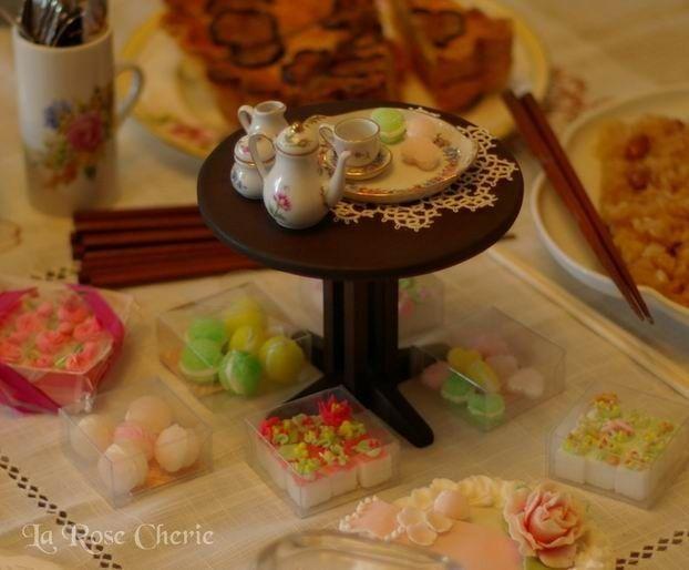 デコレーション教室 La Rose Cherie(ラ・ローズ・シェリー) -マカロンの角砂糖