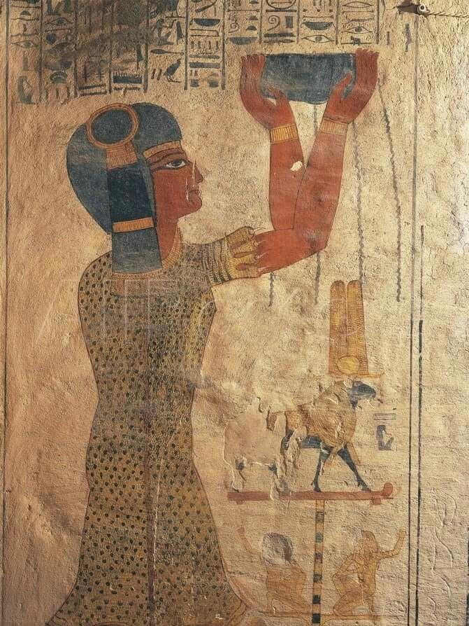 3834 mejores im genes sobre ancient egypt ii en pinterest for Mural egipcio