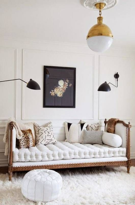 DHP Manila White Daybed And Trundle. 2. 1. Elegant Color Palette And  Accessories