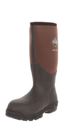 Muck Boot Arctic Pro Bark Waterproof Flexible Rubber Hunting Boots Brown M8/W9 US