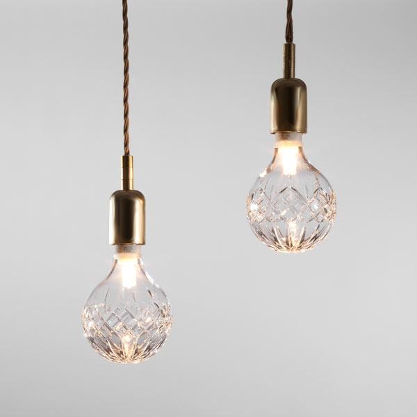 Lee Broom Public House Crystal Bulbs Milan Design Week