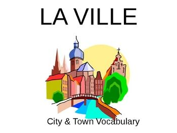 This huge 59-slide PowerPoint will introduce French learners to over 45 vocabulary words about the buildings and places in a city or town.  The pla...