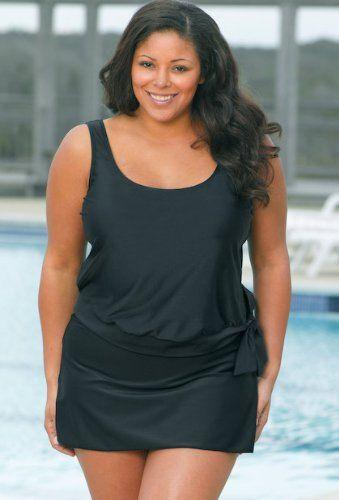 plus size bathing suits for women | ... Women's Swimwear Plus Size Swimsuits | Plussize Bathing Suits