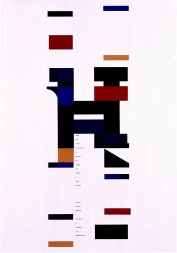 IPT 世界ポスタートリエンナーレトヤマタイトル : タイプフェイスの為のポスター 作者名 : 新島 実 出身国 : 日本 製作年 : 1997