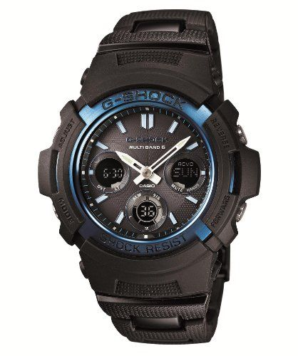 CASIO Gshock Solar Powered AWGM100BC2AJF Multiband 6 Japan Import -- Click on the image for additional details.