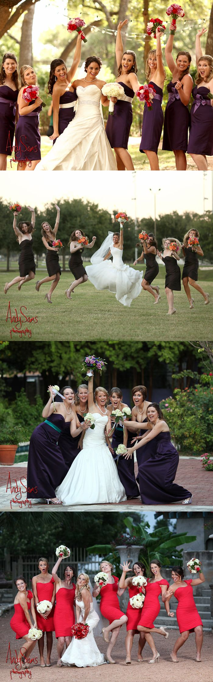 wedding photography pose ideas for edgy | Bridesmaids Photo Ideas | Austin Wedding Ideas