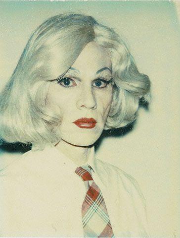 Andy Warhol, Self-portrait in Drag