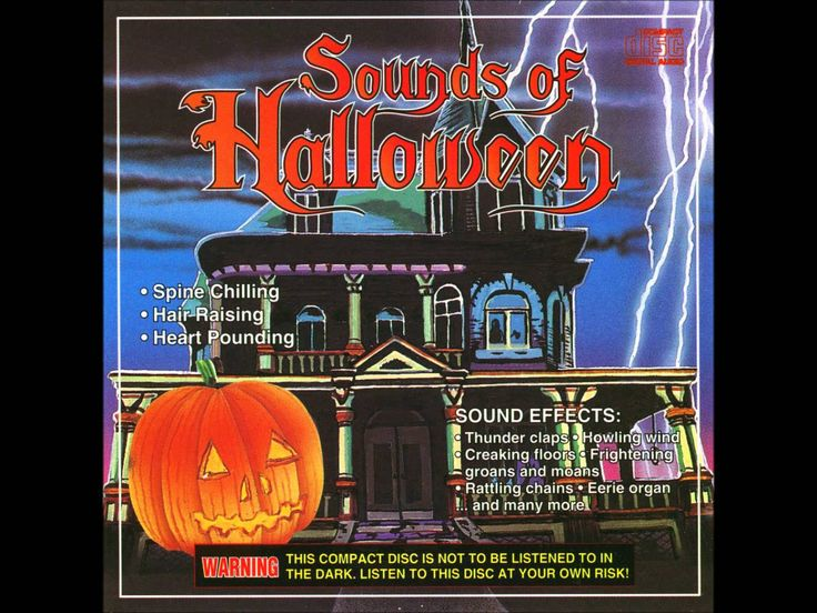 the best old school sound effects for halloween night the cd that has this is - Online Halloween Music