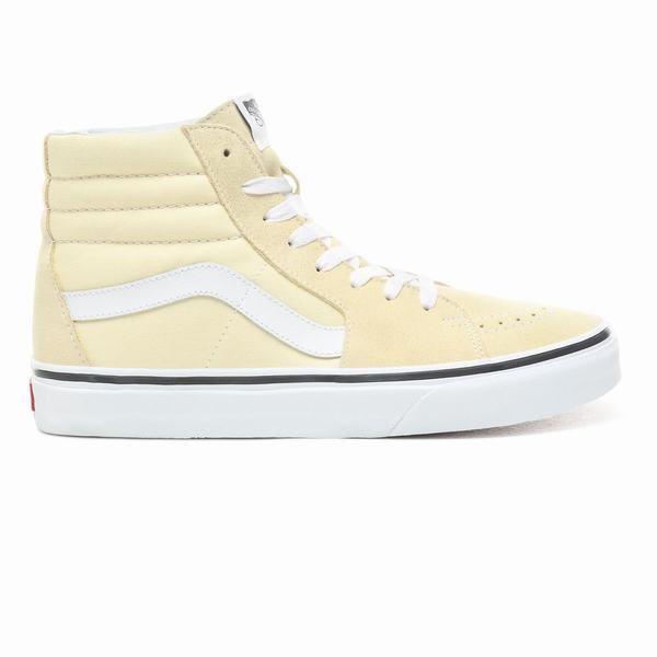 White Vans SK8-HI Hi\u0026Mid Top Shoes