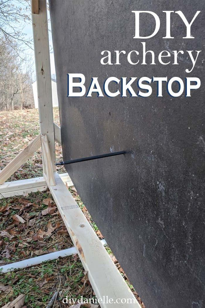 Diy Archery Backstop For A Home Archery Range Archery Range Diy Archery Target Archery