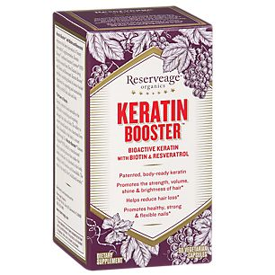 Buy Keratin Booster (60 Veggie Caps) from the Vitamin Shoppe. Where you can buy Keratin Booster and other Reserveage Organics products? Buy at at a discount price at the Vitamin Shoppe online store. Order today and get free shipping on Keratin Booster (UPC:094922015709)(with orders over $35).