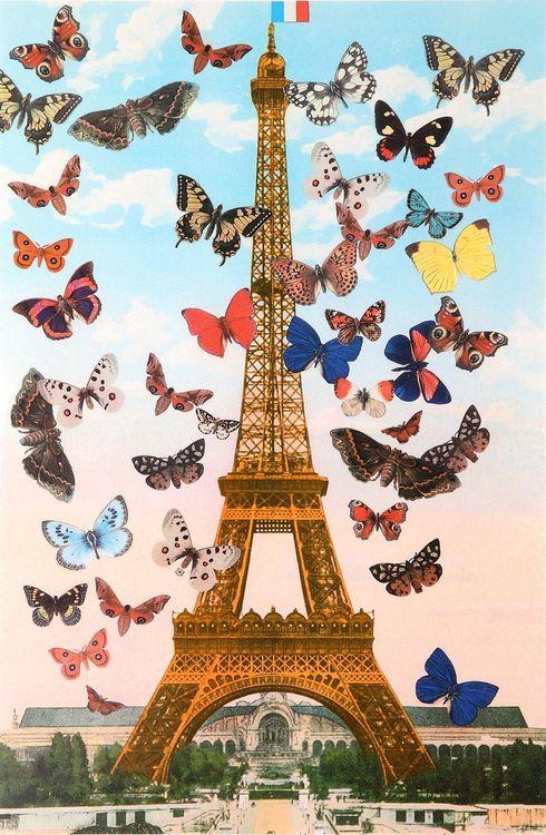 Peter Blake, Eiffel Tower, 2010