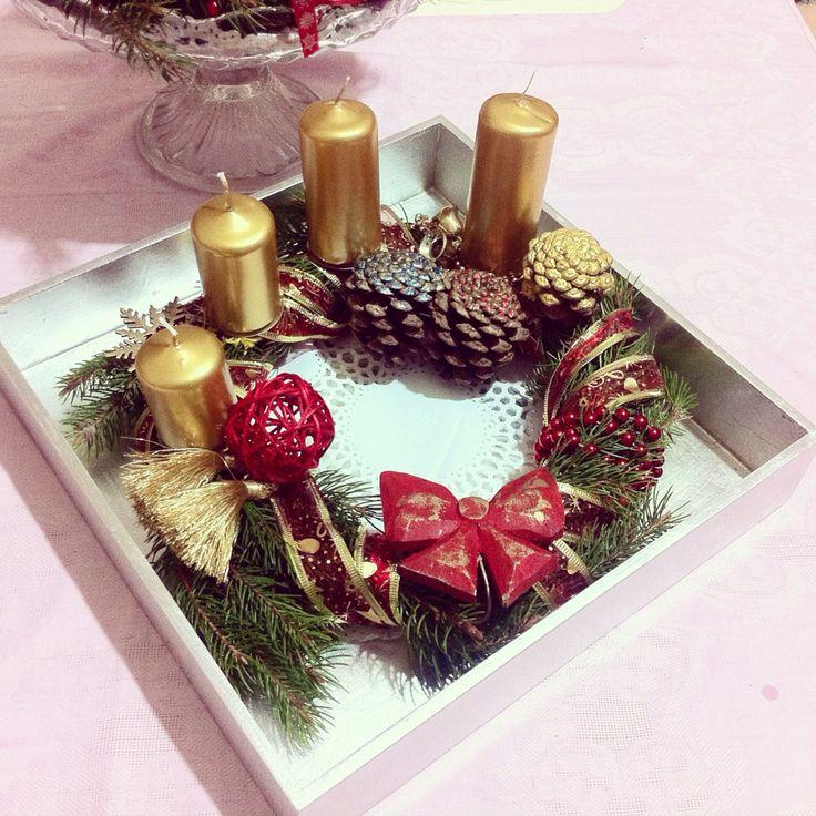 Handmade adventkrans   advent   Christmas is coming ❄️