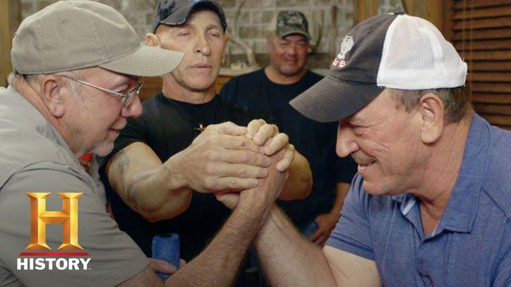 Swamp People: Arm Wrestling - Troy vs. Daniel vs. R.J. (Season 8) | History