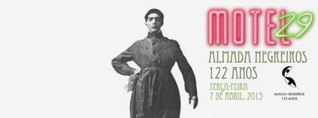 Comemoração dos 122 anos do nascimento de José de Almada Negreiros no Motel29, Cais do Sodré, 7 abril
