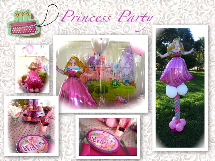 Perfect princess party in a    box