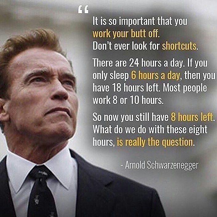 No Shortcuts? Oh, you mean like anabolic steroids? I respect