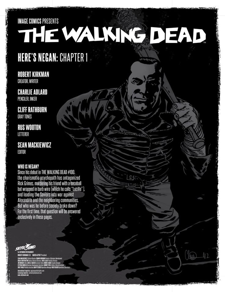 read walking dead comic online free