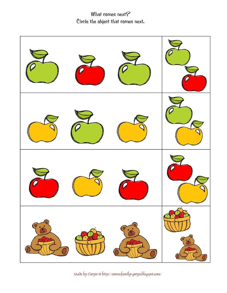 Preschool Printables: Apple   Preschool Printables   Pinterest